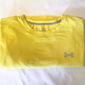 Under Armour Charged Cotton Heatgear 2XL Yellow